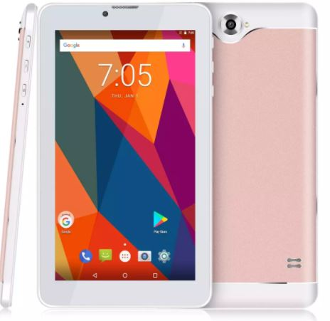 7inch Android Tablet 4.4 touch screen support 3G/2G cellphone with dual camera