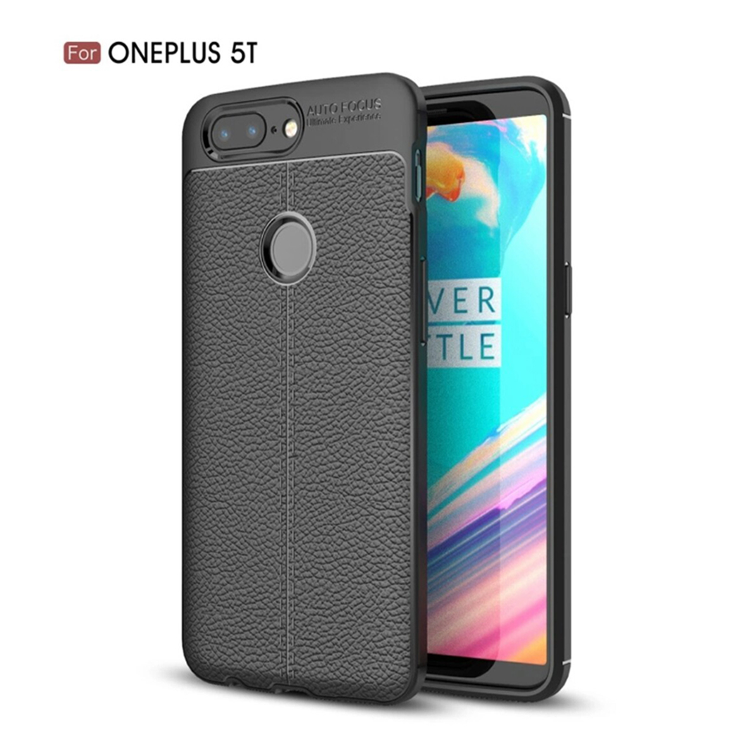 Case Cover For OnePlus 5T-Black