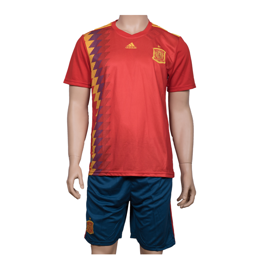 best service 4ef09 27373 Spain National Football Team Jersey Home-FIFA WC 2018 ...