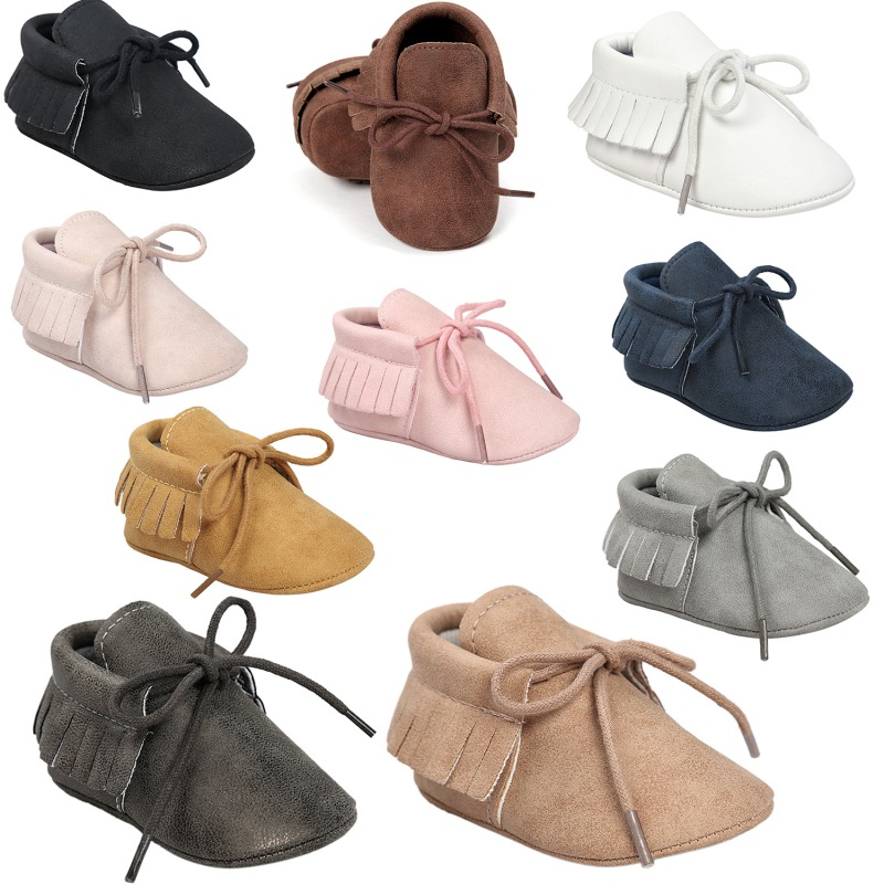 Hot Baby Shoes 2018 New Autumn/Spring Newborn Boys Girls Toddler Shoes PU Leather Baby Moccasins Sequin Casual Sneakers 0-18M S2