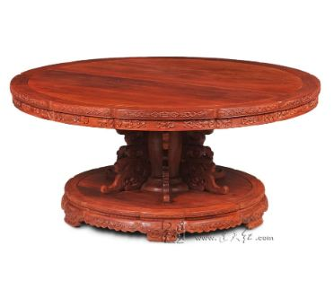 Hotel High Grade Round Table 16 person Seat Big Table Rosewood Dining Desk New Claisscal fashion Antique Board Solid Wooden 2.5M