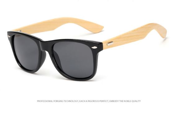 Wood Sunglasses Men women square bamboo Women for women men Mirror Sun Glasses