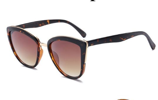 Cateye Sunglasses Women Vintage Gradient Glasses Retro Cat eye Sun glasses Female Eyewear