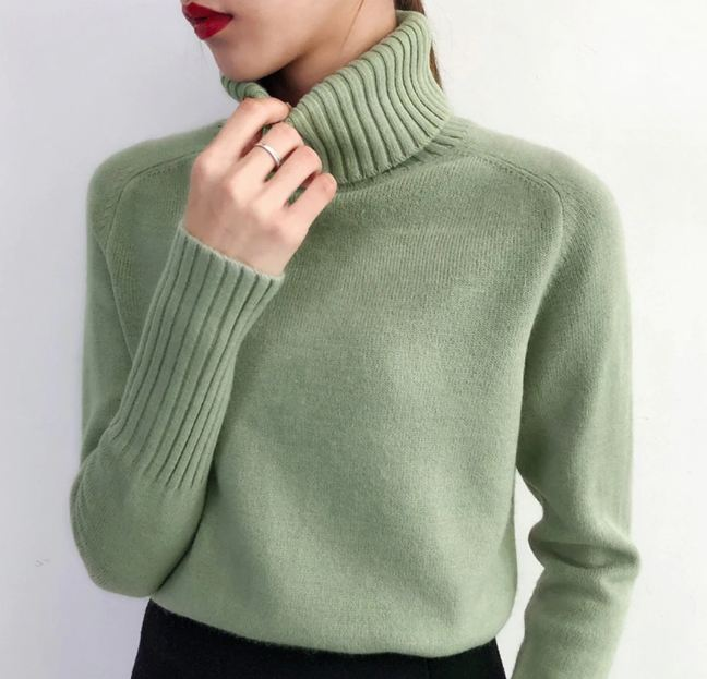 Sweater Female 2019 Autumn Winter Cashmere Knitted Women Sweater And Pullover Female Tricot Jersey Jumper Pull