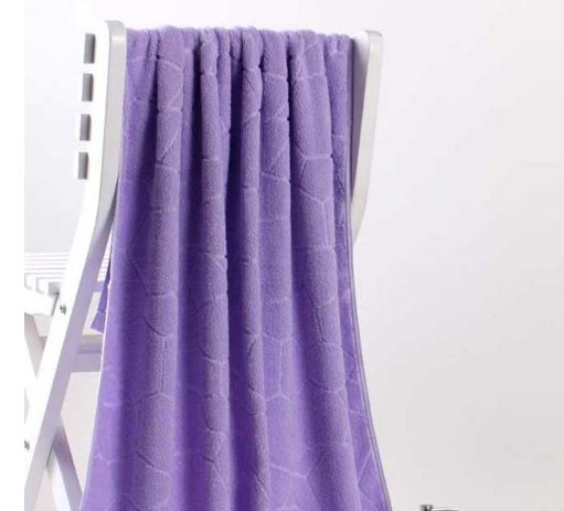 Bath Towels 100% Cotton towel 6 Colors Avaliable Cotton Fiber Natural Eco-friendly Embroidered Bath Towel