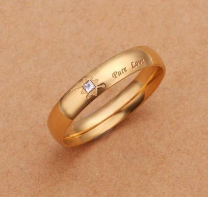 R361S # 2014 Sell Fashion Brass Jewelry Rings Rings for Women Golden Rings for Men the Ring