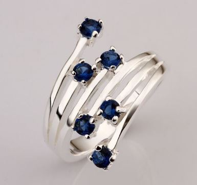 Zircon stone R449S # 2014 Fashion Silver Selling Silver Jewelry Rings Silver Rings Women Rings for Men the Ring