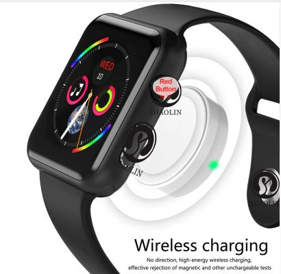 Smart Watch Series 4 Push Message Bluetooth Connection for Android Phone Apple IOS iPhone 6 7 8 X Smartwatch