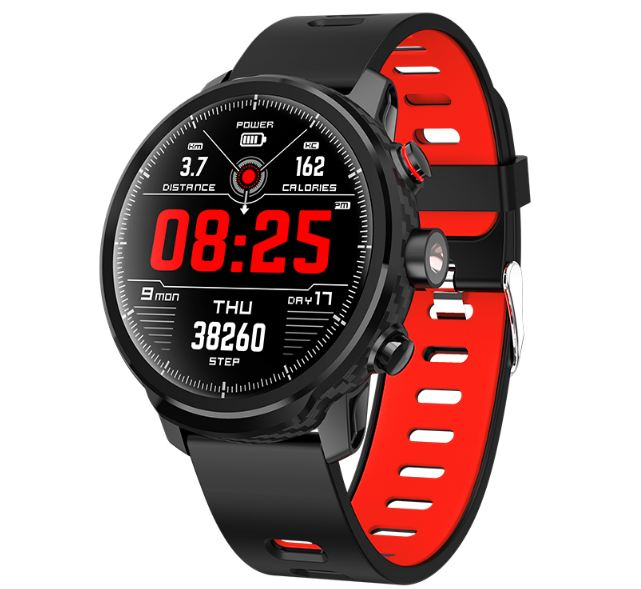 Smart Watch IP68 Waterproof Multiple Sports Heart Rate Mode Weather Forecast Bluetooth Smartwatch
