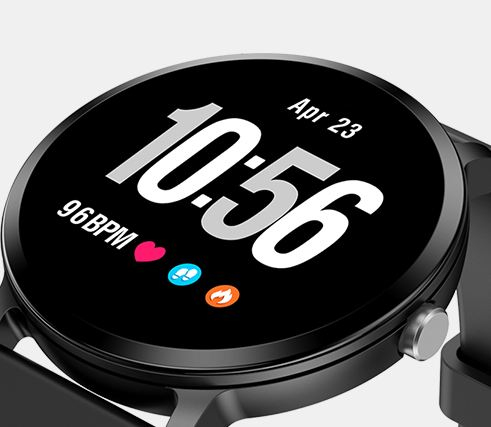 mart Watch IP67 Waterproof Tempered Glass Activity Fitness Tracker Heart Rate Field Monitor For Men Women's Smart Watches