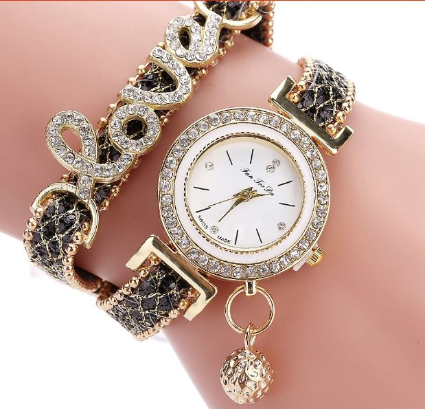 brand For women ladies' watch with rhinestones For women s dress wrist watches Relogio Feminino gift