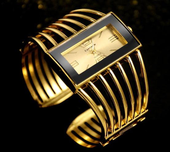 Cansnow For Women s Watches Luxury Fashionable Rose Gold Bracelet Watches Women Dress Watches Female Lady Saati Girls Wristwatches