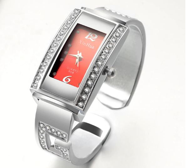 feminino Top Luxury watch with a diamond bracelet for women watches steel bracelet ladies watch