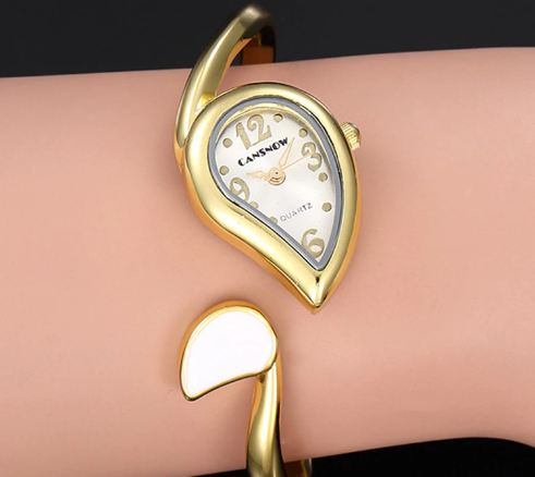 Luxury little Rose gold bracelet for women Bayan Kol Saati fashion watch trendy stainless steel jewelry