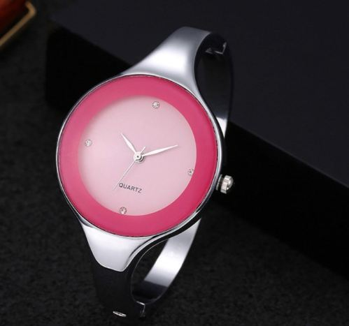 For women bracelet watches Crystal dress Fashionable women Stainless steel Round dial Unique designer quartz watch