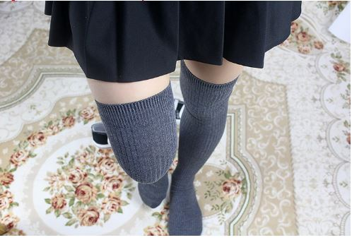 Women thigh high stockings over knee long winter socks 2019 Autumn NEW Spring Harajuku Sweet Cute Kawaii Korean style Campus stripe