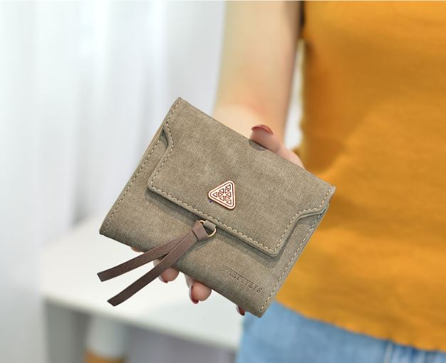 2019 New Women's Short Wallet Multi-function Trend Clutch Bag Small Change Wallet Simple Wallet Ticket