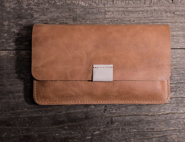 ALAVCHNV original retro first layer handmade leather horse crazy men and women long thin leather wallet YG607