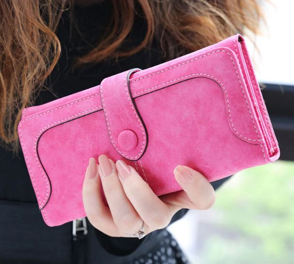 Women's Leather Lady High Quality Women's Wallet Card Holders Wallet Wallets