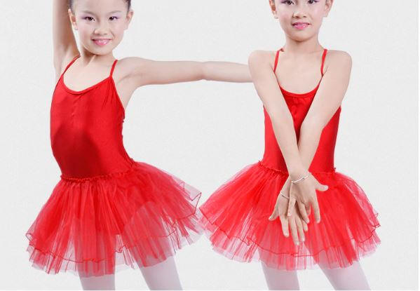 Enfant Ballerina Ballet Ballet Gymnastics Ballet Tutu Girl Dress Clothes Children Braces Children Dance Costume