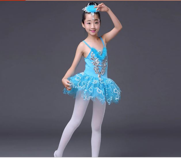 Ballet Tutu Dance Dress Skirt For Girls