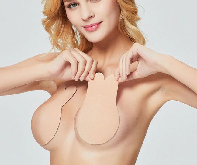 Bandage Strapless Invisible Push Up Bras For Women Self Adhesive Wireless Bralette