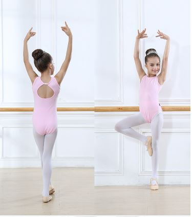 Ballet Leotards for Girls Sleeveless Body Dance Ballet Ballet for Kids Dance Clothing Cotton Bodysuit Overalls