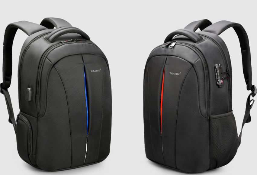 Laptop Backpack NO Key TSA Anti Theft Men Backpacks Travel Teenage Backpack bag male bagpack