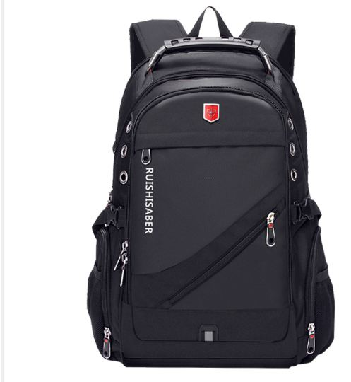Laptop Backpack Men USB Charging Waterproof Travel Backpack Women Rucksack Male Vintage School Bag