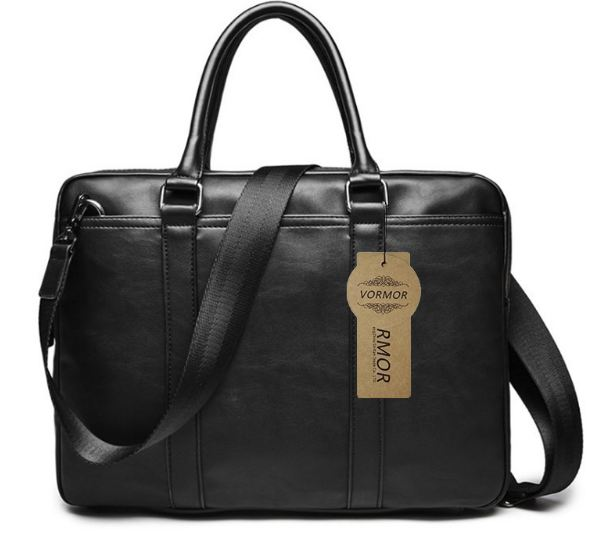 Famous Brand Business Men Briefcase Bag Luxury Leather Laptop Bag Man Shoulder Bag