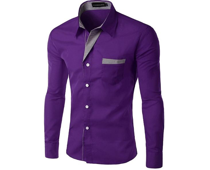 Mens shirts Camisa Masculina Long Sleeve Shirt Men Korean Slim Design Formal Casual Male Dress
