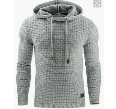 Winter Warm Knitted Men's Sweater Casual Hooded Pullover Men Cotton Sweatercoat