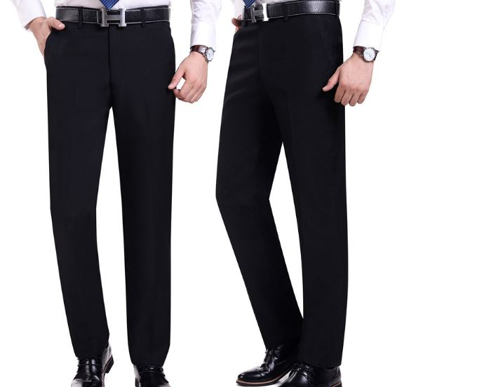 Dress Pants Social Mens Dress Pants Black Formal Suit Pants Business Male Wedding