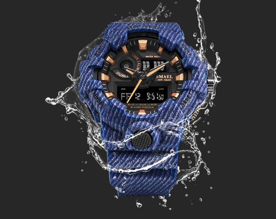 Men's Watch Waterproof SMAEL Sport Watches