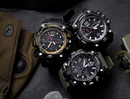 Men's Sport Watches Men's Large Sport Watch Military Military Watch Men's Luxury Men's Watch