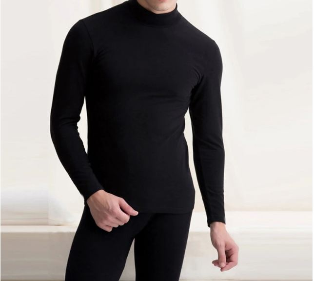 Hot Sale New Thermal Underwear Mens Long Autumn Winter Turtleneck