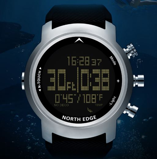 Watches Waterproof 100m Watch Intelligent Digital Sport Army Military Diving Watch Watch Altimeter Barometer Compass