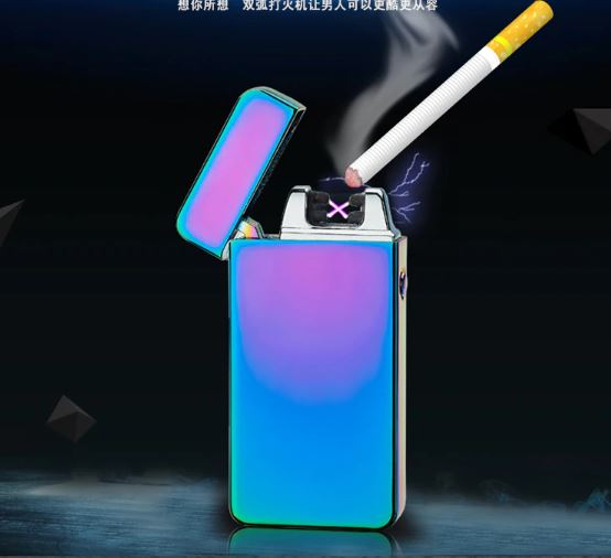 Windproof Electronic Cigarette Lighter Smoke Milder Electric