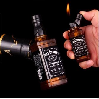 Creative Lighter Wrench Can Basketball Fire Extinguisher Cannon Pressure-cooker Model Fire Starter Collection