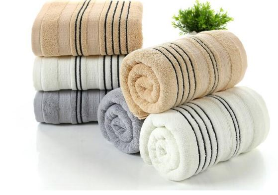 100% Cotton Thicken Face Towel Home Bathroom Soft Suction Bath Shower Towel Beach Towel