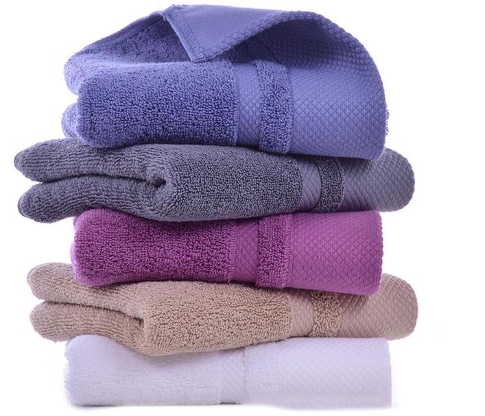 Soft Cotton Bath Towels For Adults Absorbent Travel Luxury Hand Bath Beach Face Sheet Basic Towel Bathroom