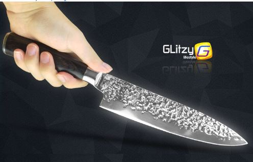 Kitchen Knife 8 inch Professional Japanese Chef Knives 7CR17 440C High Carbon Stainless Steel