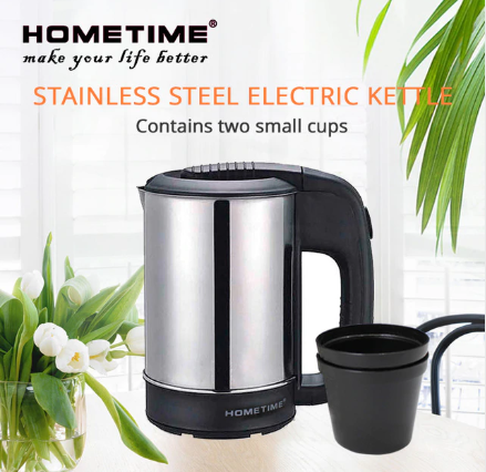 Stainless steel portable traveling electric kettle 0.5 liter
