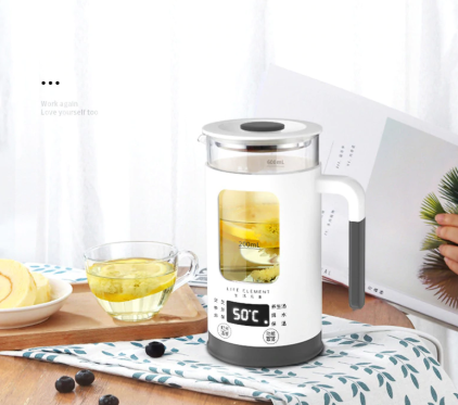 600ML Mini Multi-function Electric Kettle-220V