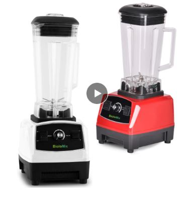 Commercial Grade Blender Food Processor High Power Squeezer Ice Smoothie Mixer Fruit Bar Blender