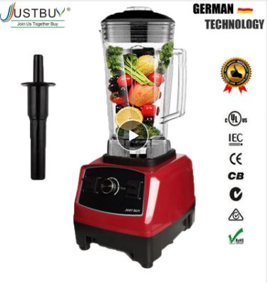 Commercial Blender Blender Blender Professional Food Processor Japan Blade Ice Squeezer Smoothie Machine