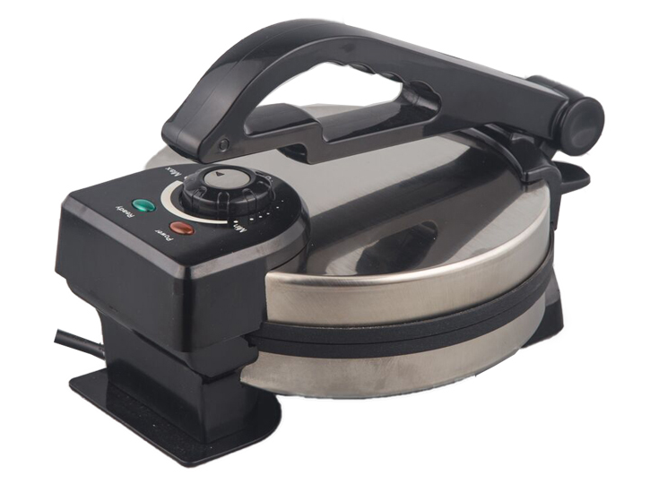 Stainless steel 1200W 8 inch non-stick Roti Maker