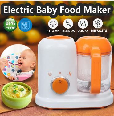 Electrical Baby Food Maker All In One Child Blenders