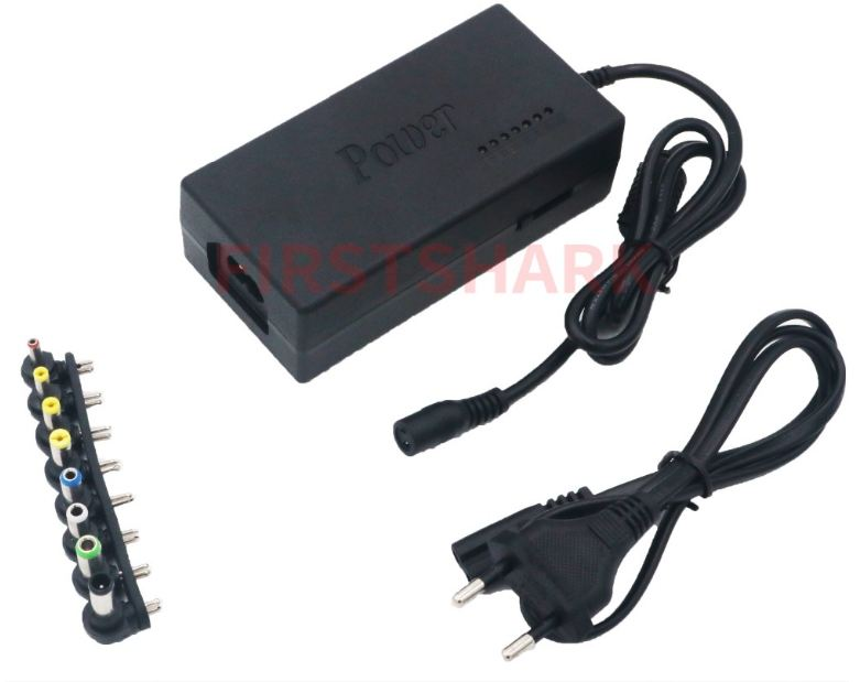Universal Laptop Adapter 96W LED Charger Adjustable Power Supply  Detachable Plugs For Notebooks Dell HP Toshiba Acer Asus