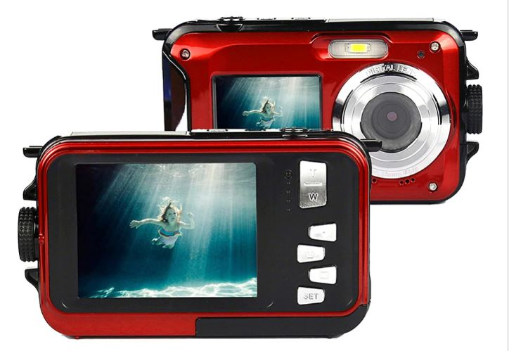 Digital Camera Water Proof 2.7 'with HD Microphone Video Camera Digital Anti-shake Face Detection Direct Print